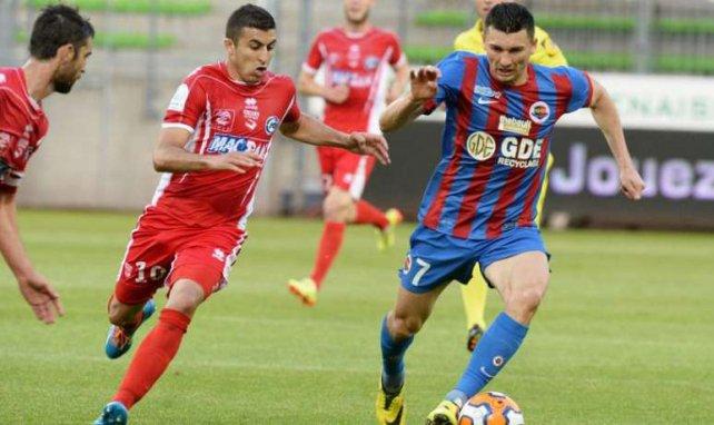 Le match Caen-Nîmes au coeur d'une polémique