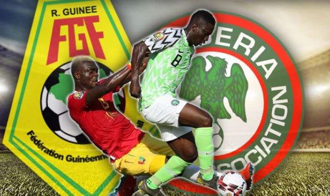 Le Nigéria s'est imposé sur le plus petit des scores face à la Guinée