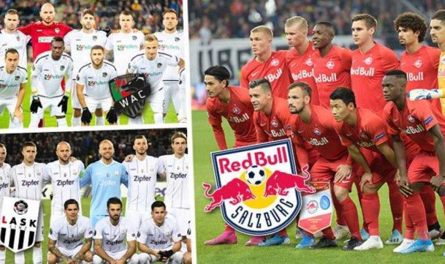 Le Red Bull Salzbourg, le LASK et le Wolfsberger AC impressionnent en Coupe d'Europe !