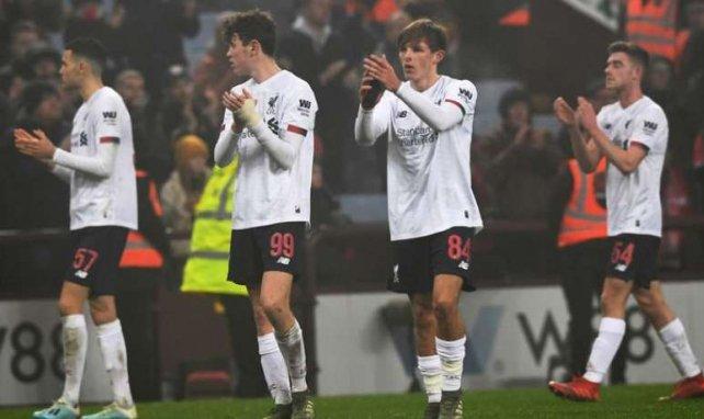 La folle soirée des jeunes de Liverpool face à Aston Villa (5-0)