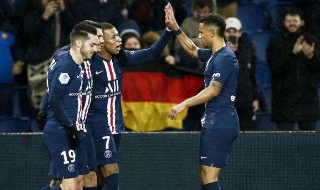 Les joueurs du Paris SG, qui célèbrent ici un but contre Dijon, ont envie de frapper fort