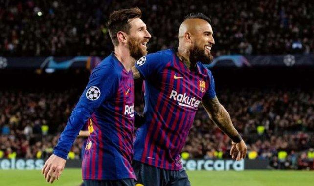 Lionel Messi a régalé face à l'OL
