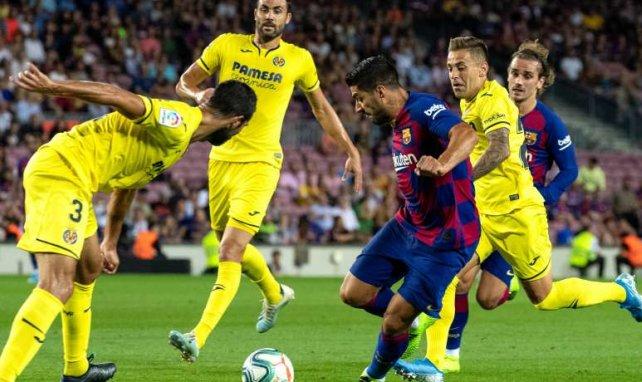 Luis Suarez a tout raté contre Villarreal ce mardi...