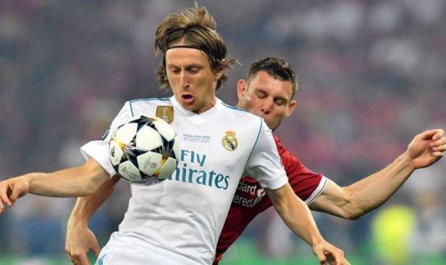 Luka Modric va rencontrer Florentino Pérez