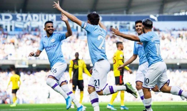 Manchester City a régalé contre Watford !