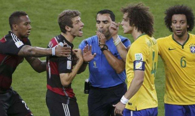 Marco Antonio Rodriguez lors de la demi-finale de la Coupe du monde 2014 entre le Brésil et l'Allemagne !