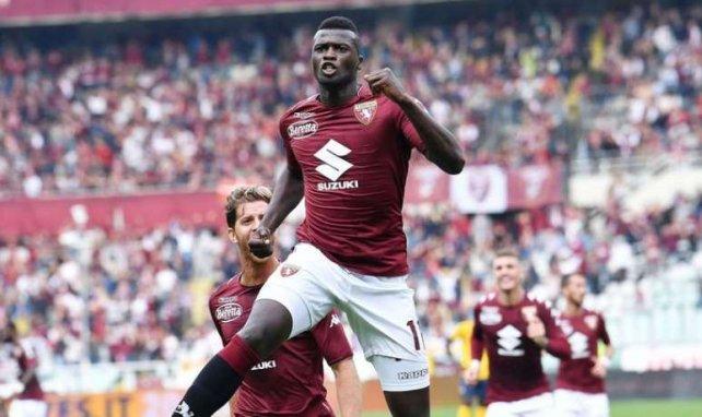 Mbaye Niang, ici sous le maillot du Torino, figurerait sur les short-lists de l'OM et l'ASM