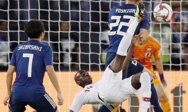 Meilleur buteur de la Coupe d'Asie avec 9 réalisations, Ali Almoez a marqué un sublime retourné en finale