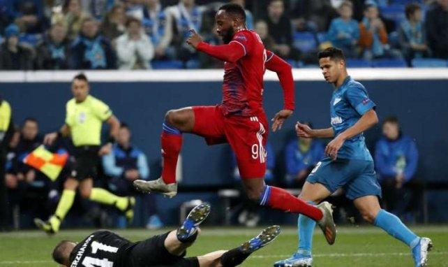 Moussa Dembélé en action lors de ce match en Russie