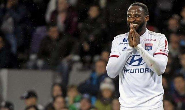 Moussa Dembélé sous le maillot de l'OL