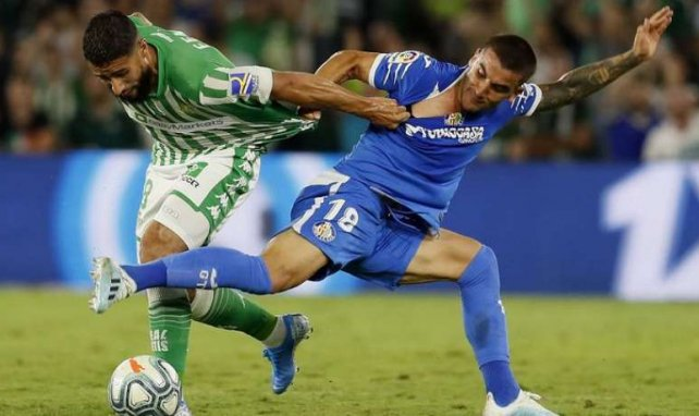 Nabil Fekir, ici avec le Betis, est bien en Andalousie