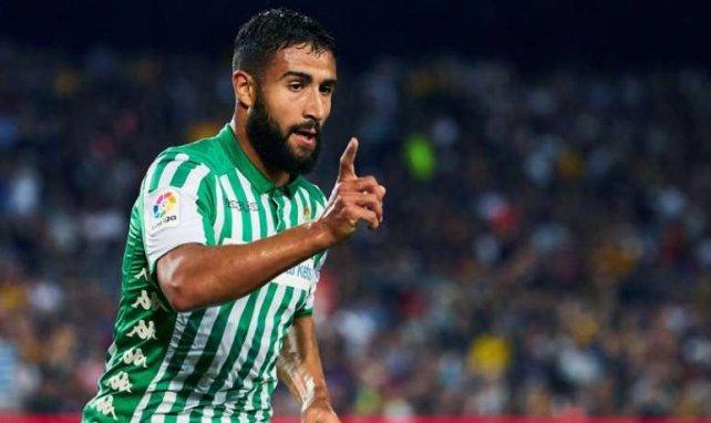 Nabil Fekir sous le maillot du Real Betis Balompié