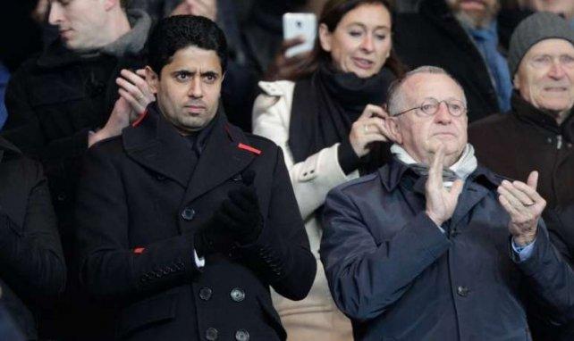 Nasser Al-Khelaïfi et Jean-Michel Aulas sont cette fois-ci dans le même camp