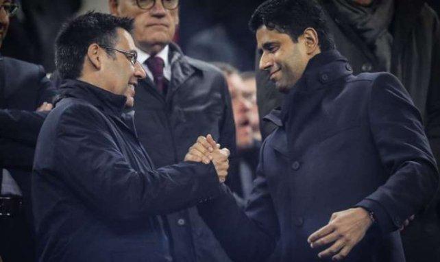 Nasser al-Khelaïfi et Josep Maria Bartomeu sont d'accord, il n'y a pas d'accord.
