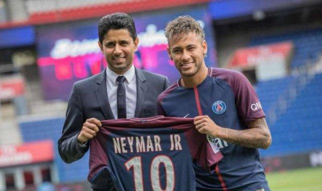 Nasser Al-Khelaïfi ne compte pas lâcher Neymar !