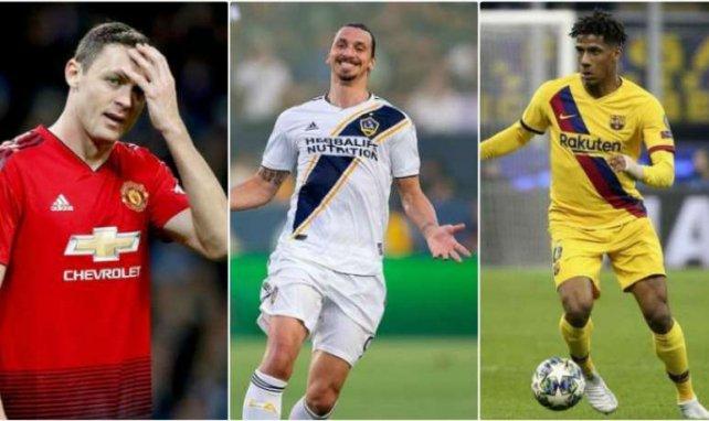 Nemanja Matic, Zlatan Ibrahimovic et Jean-Clair Todibo, cibles prioritaires de Milan