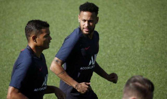 Neymar et Thiago Silva sont rentrés chez eux