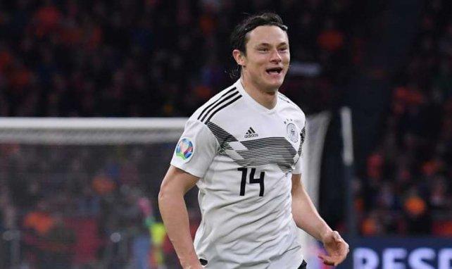 Nico Schulz sous les couleurs de l'équipe d'Allemagne