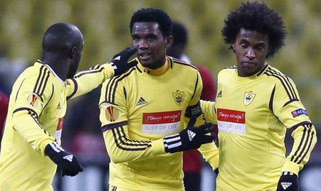 Qu'il semble loin, le temps où Lassana Diarra, Willian et Samuel Eto'o jouaient avec l'Anzhi