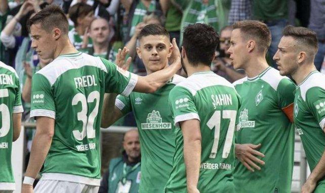 Rashica célébrant son but la saison dernière... face à Leipzig