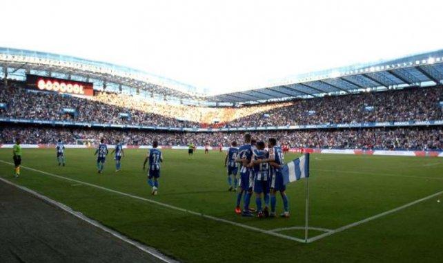 Riazor, l'emblématique stade du Depor, lors des playoffs de montée en Liga en juin dernier