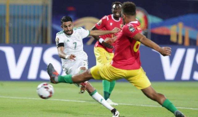 Riyad Mahrez a inscrit le but du break pour les Fennecs