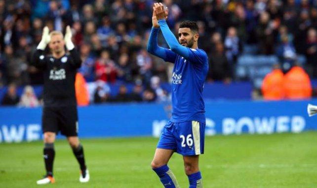 Riyad Mahrez, ici sous le maillot de Leicester, est le joueur africain de l'année 2016