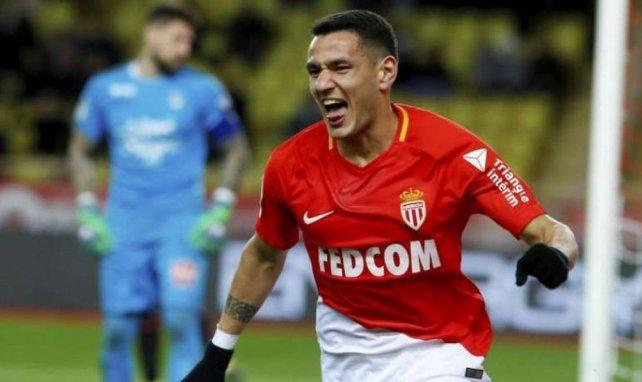 Rony Lopes, qui célèbre ici un but avec Monaco, pourrait gonfler la colonie des ex de L1 à Séville