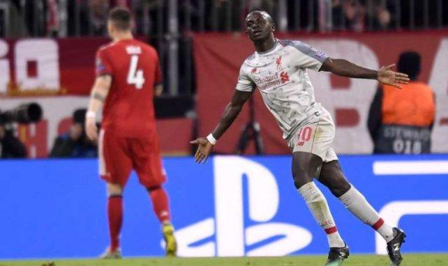 Sadio Mané a trouvé le chemin des filets à deux reprises à l'Allianz Arena