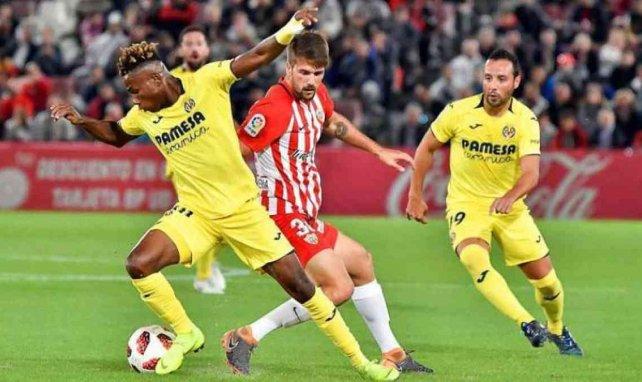 Samuel Chukwueze lors d'une rencontre de Liga sous le maillot de Villarreal