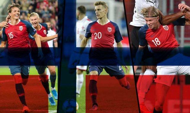 Sander Berge, Martin Ødegaard et Erling Braut Håland représentent le futur de la Norvège !