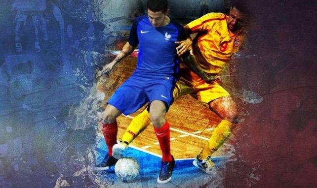 Sid Belhaj, l'un des piliers de l'Equipe de France de futsal.