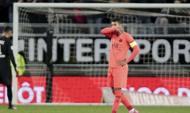 Thiago Silva sous le maillot du PSG