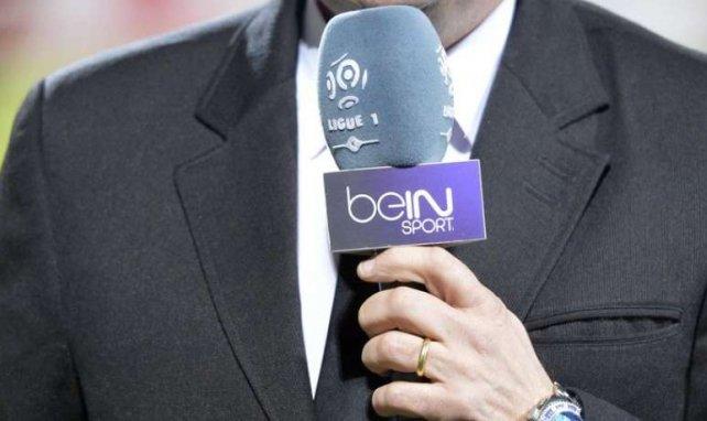 Un micro de BeIn Sports utilisé pendant un match de Ligue 1