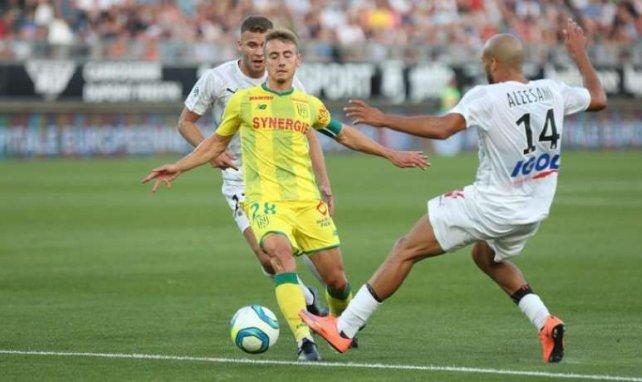 Valentin Rongier, ici avec Nantes face à Amiens, peut encore croire à un départ à l'OM !
