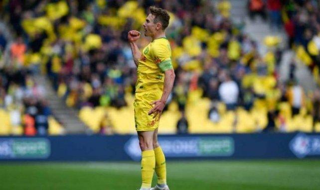 Valentin Rongier, ici sous le maillot de Nantes, tient peut-être enfin son transfert à l'OM !