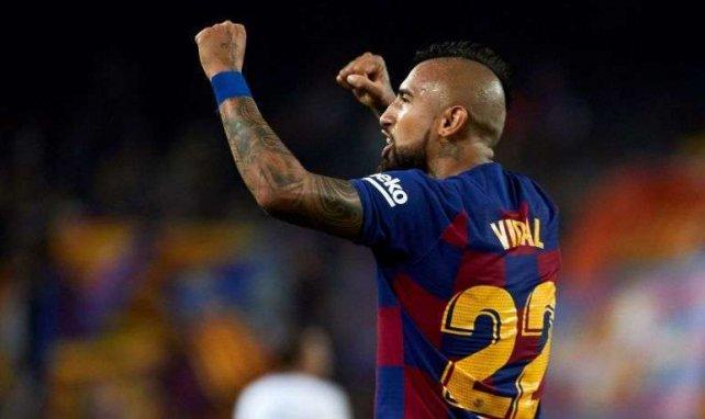 Barça : ça avance entre Arturo Vidal et l'Inter Milan