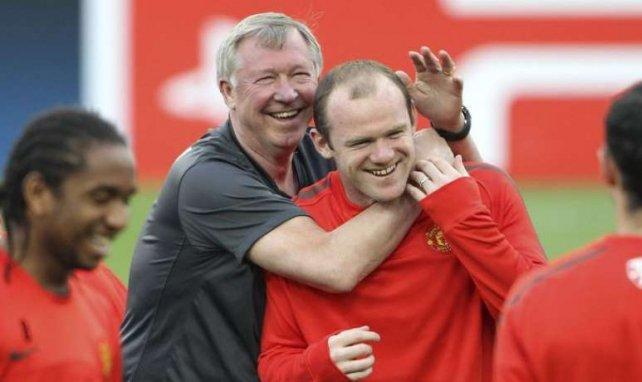 Wayne Rooney se verrait bien suivre le chemin de Sir Alex Ferguson