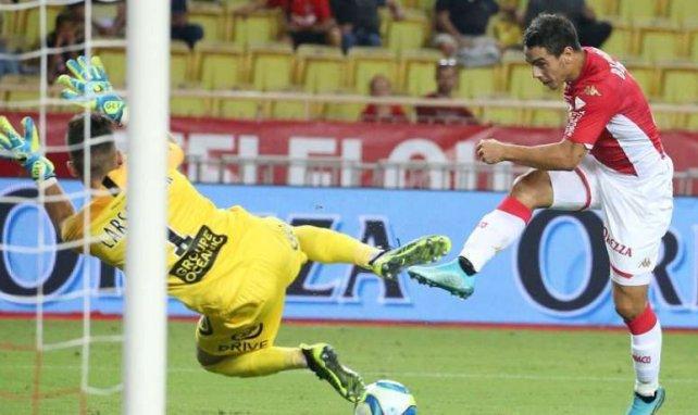 Wissam Ben Yedder lors de la rencontre entre Monaco et Brest en début de saison