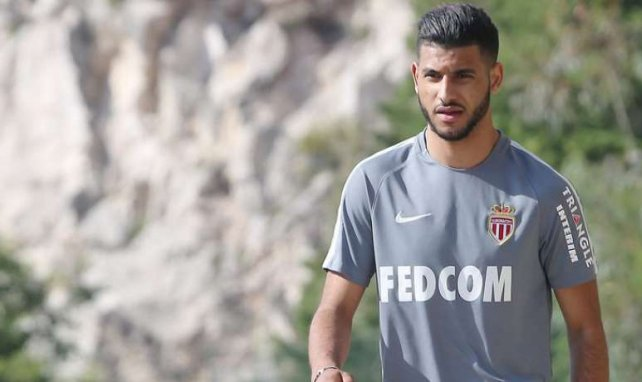 Youssef Aït Bennasser sous le maillot de Monaco
