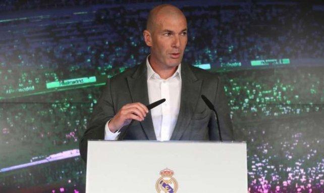 Zinedine Zidane s'est exprimé devant les journalistes