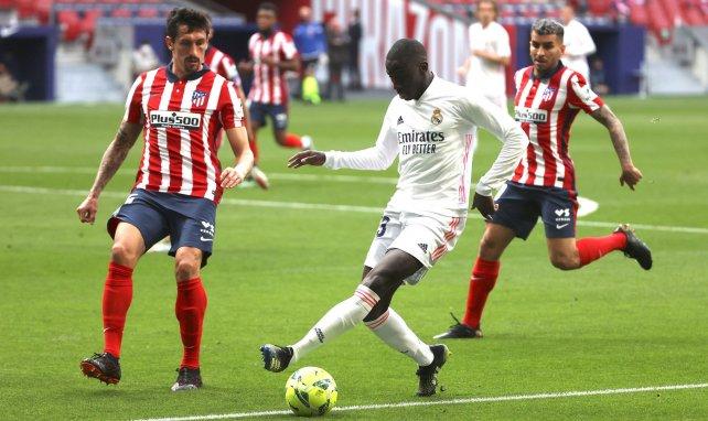Ferland Mendy face à l'Atlético