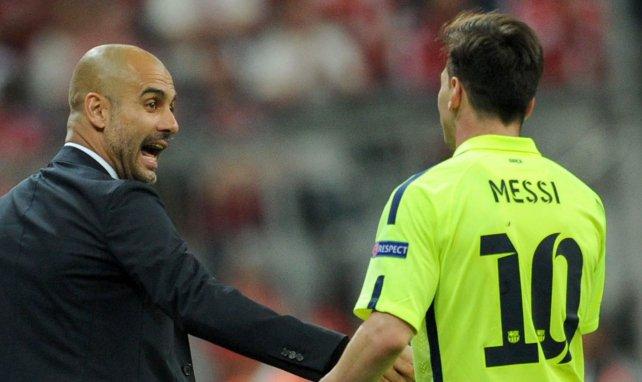 Pep Guardiola exprime son souhait pour le futur de Lionel Messi