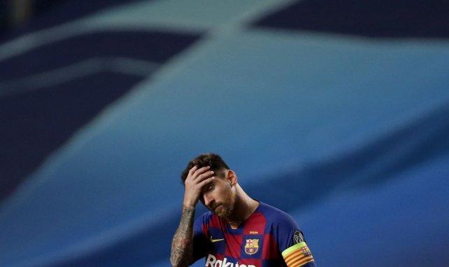 LdC : Messi absent du groupe du Barça !