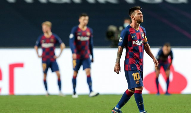 Messi est en plein doute au Barça