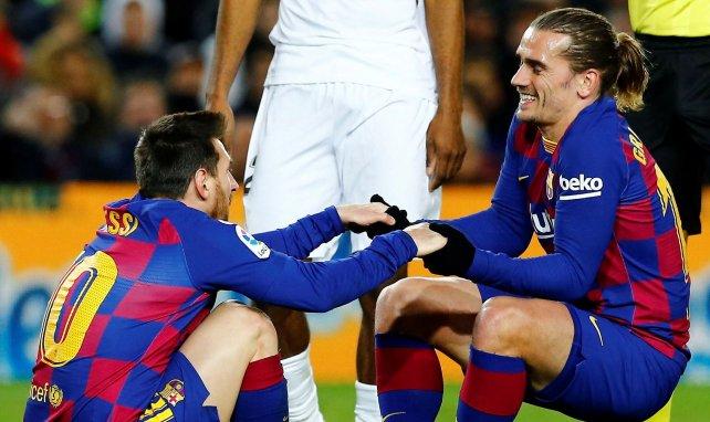Antoine Griezmann et Lionel Messi au Barça