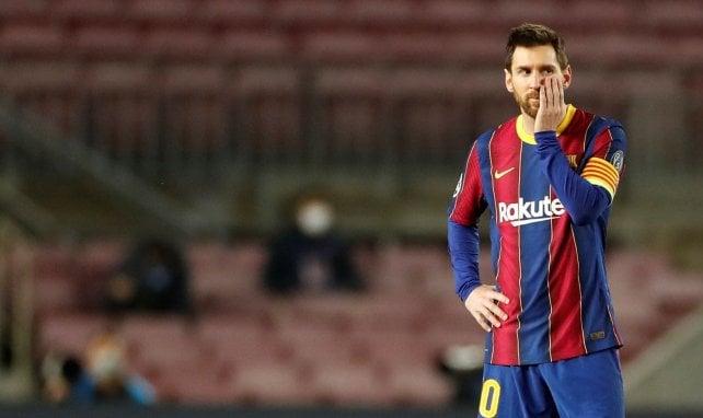 La seule condition fixée par Lionel Messi pour rester au FC Barcelone