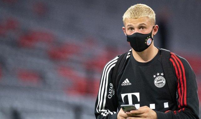 Michaël Cuisance avec le Bayern Munich