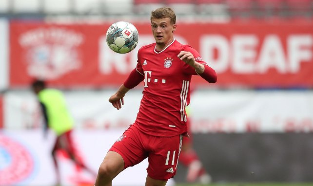 Michael Cuisance en action face à Fribourg en Bundesliga
