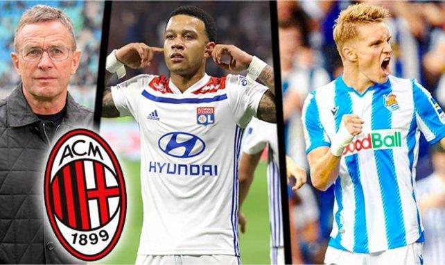 Mercato :  l'AC Milan prépare une révolution d'envergure